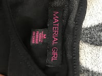 Material Girl Open Back Tee. Size M. Vaughan, L4H 3P6