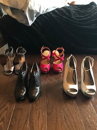 six pairs of assorted shoes Waterdown, L8B 0L8