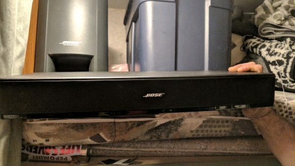 Bose lifestyle system with soundbar and dvd 4871861d-4069-4550-bb81-8a4a900c3616
