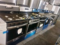 Stainless steel new stoves Baltimore, 21223