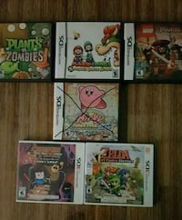 Nintendo DS and 3Ds games!!! Toronto, M8Y 0A7