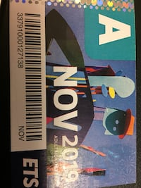November bus pass Edmonton
