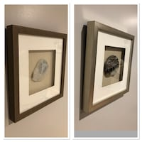 two brown wooden framed paintings Great Falls, 22066
