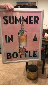 Wolffer Winery summer in a bottle painting
