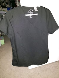 Scrub tops size large