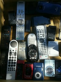 remotes n cases phones chargers