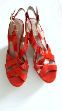 Vince Camuto Hattie Orange Wedges Toronto, M6H