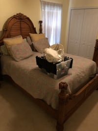 Queen bed with matching ceiling fan Winter Garden, 34787