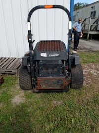 black and red push mower TAMPA