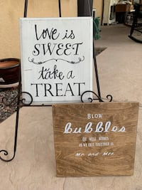 brown wooden quote wall decor Riverside, 92507