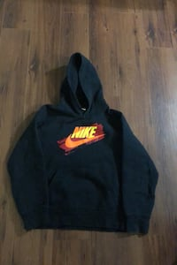 Boys Nike new condition sz large (11-13 yrs ) old black fleece hoodie Edmonton, T6L 6X6