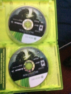 two xbox 360 games