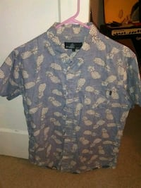 Pinapple button up size L Sunnyvale, 94086