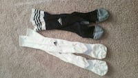 black and white soccer socks Centreville