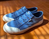 Huf Classic Lo blue shadow canvas Men's size 9