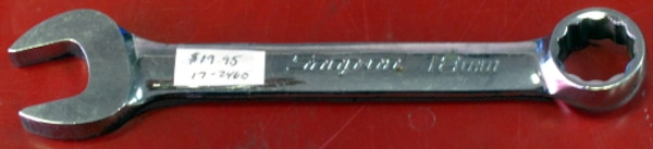 Snap-On 18mm Metric Combination Wrench