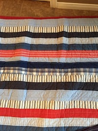 white, red, and black striped textile Waterloo, N2K 4M6