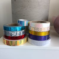 Hula hoop tape assorted types everything for $20 Vancouver, V6B 1B4