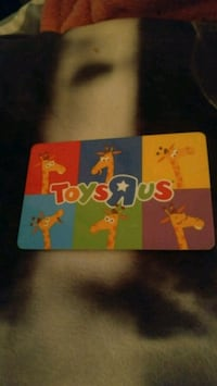 $48.84 gift card for ToysRus Guelph, N1E 6W4