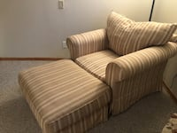 Oversized chair and ottoman Winterset, 50273
