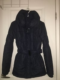 Navy winter coat, size S Pointe-Claire