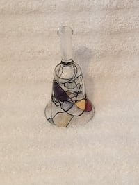Retired Partylite Mosaic Stained Glass Candle Snuffer Vienna, 22180