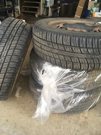 Tires and rims. OBO Oliver Paipoonge