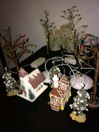 Christmas village town accessories Bay Shore