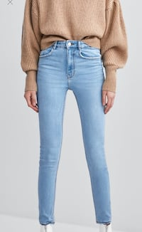 Zara TRF High Waist Light Wash Jeans Toronto, M4Y 1X5