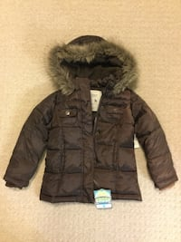New Old Navy frost free girl's winter jacket