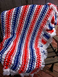 red, white, and blue knitted textile Salem, 97306