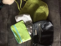 two black and green leather bags Liberty, 29657