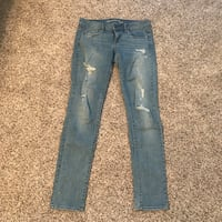 American Eagle Distressed Glitter Jeans Urbandale, 50322