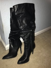 Slouch Stiletto Boot