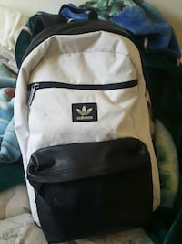 white and black Adidas backpack Hailey, 83333