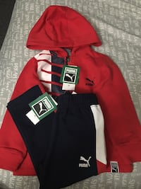 Puma tracksuit toddler size 3T. Brand new with tags. Toronto, M5A 4A8