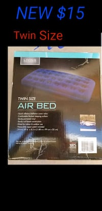 New twin air mattress  Las Vegas, 89120