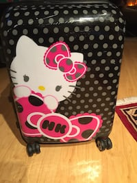 Hello kitty small suitcase  Coquitlam, V3J 6K4