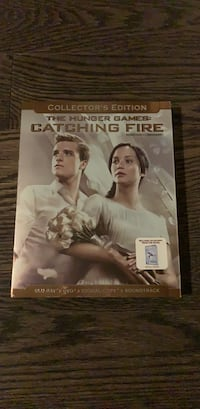 Hunger Games Catching Fire BluRay Mississauga, L4W 5A6