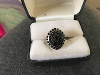 925 black spinel ring Glen Burnie, 21061