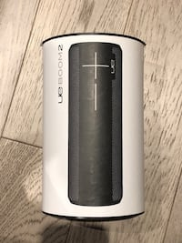 UE Boom 2 Bluetooth speaker - Phantom Black Burnaby, V3J 1J8