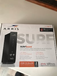 Arris cable modem with WiFi