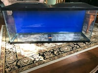 55 Gallon Marineland Aquarium With 3 Lights