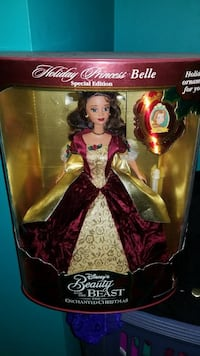 Special edition 1990s holiday princess belle doll