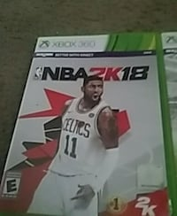 NBA 2K18 Xbox One game case New Castle, 19720