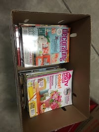 Box of approx 60 quality home decorating magazines Oakdale, 95361