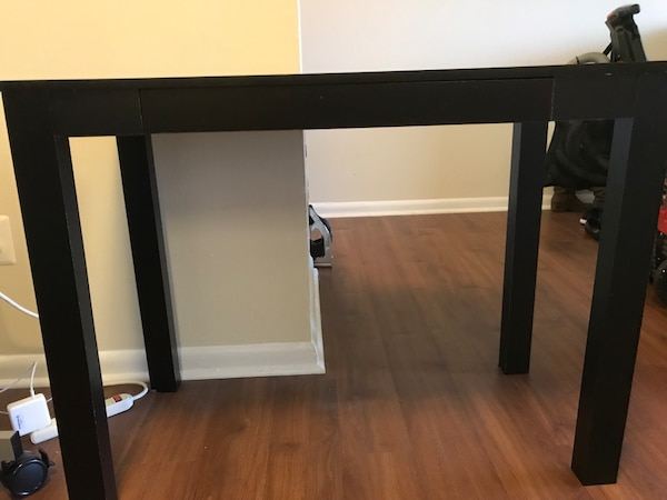 Desk with drawer.
