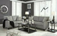 Strehela Silver Sofa & Loveseat   Houston