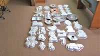LOT OF 57 VINTAGE WILTON CAKE MOULDS Concord