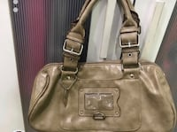 Women's light brown leather shoulder bag Vancouver, V5S 1K3